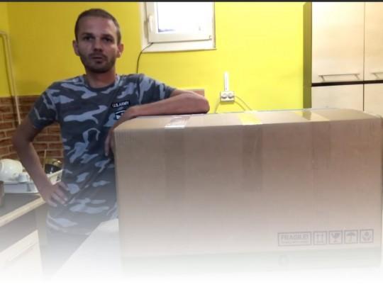 """VIDEÓ: HP LP2465 24"""" monitor kicsomagolás"""