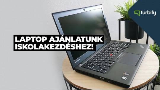 Laptop ajánlatunk iskolakezdéshez, 1. rész