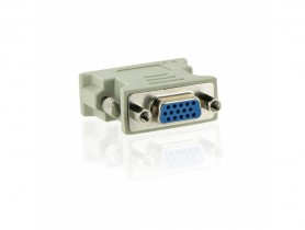 4World Adapter DVI - VGA Cable video - 1130005