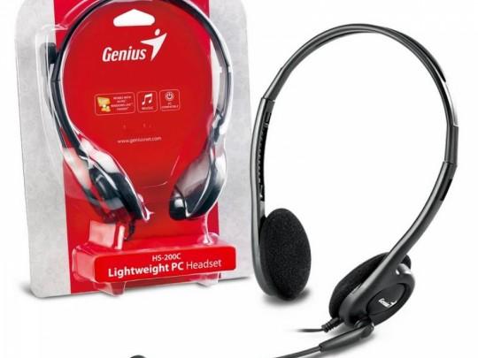 Genius HS-200C Fejhallgató - 1350005 #1