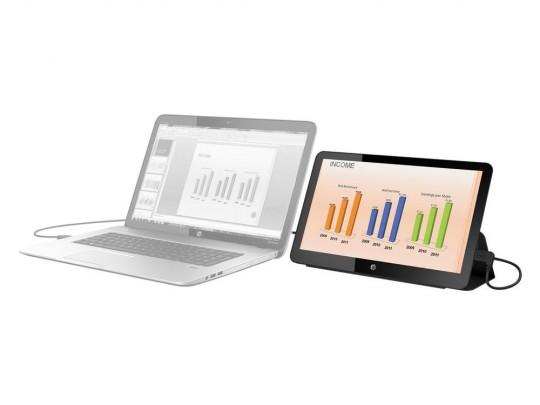"""HP EliteDisplay S140u használt monitor, 14"""" (35,5 cm), 1600 x 900 - 1441296 #1"""