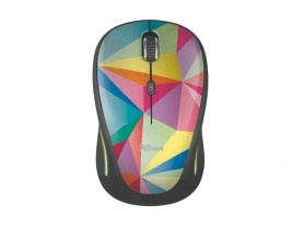 Trust Yvi FX Wireless Mouse - geometrics Egér - 1460053
