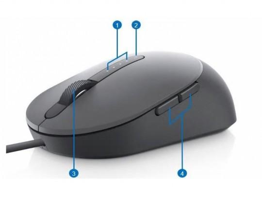 Dell Laser Mouse MS3220 USB, Black Egér - 1460054 #2