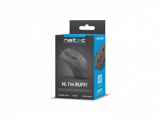 Natec Ruff 1000 DPI Basic Egér - 1460060 #4