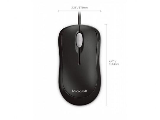 Microsoft Microsoft Basic Optical Mouse Mac/Win USB, Black Egér - 1460066 #2