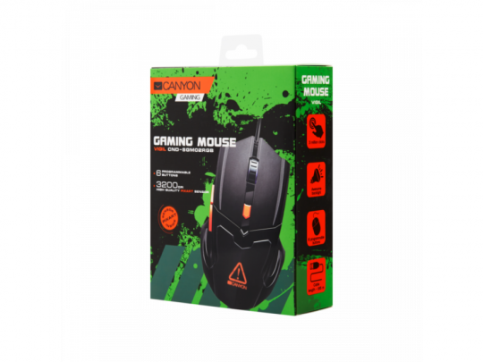 Canyon CND-SGM02RGB Vigil Optical Gaming Mouse 3200 DPI Egér - 1460068 #5