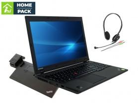 LENOVO ThinkPad L540 + LENOVO ThinkPad Pro Dock (Type 40A1) + Headset