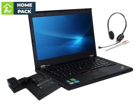LENOVO ThinkPad T430 + LENOVO ThinkPad Mini Dock Series 3 (Type 4337) with USB 3.0 + Headset