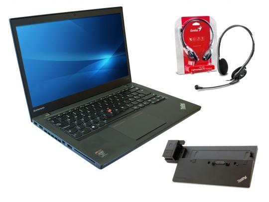 "Lenovo ThinkPad T440 + ThinkPad Pro Dock (Type 40A1) + Headset használt laptop, Intel Core i5-4300U, HD 4400, 8GB DDR3 RAM, 180GB SSD, 14,1"" (35,8 cm), 1600 x 900 - 1524454 #7"