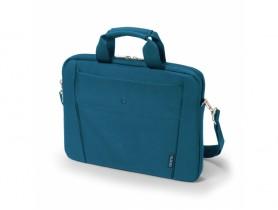 "Dicota 13""-14.1"" Slim Case BASE Blue Laptop táska - 1540023"