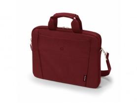 "Dicota 13""-14.1"" Slim Case BASE Red Laptop táska - 1540024"