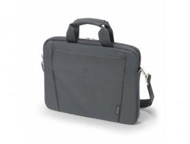 "Dicota 13""-14.1"" Slim Case BASE Grey Notebook táska - 1540025"
