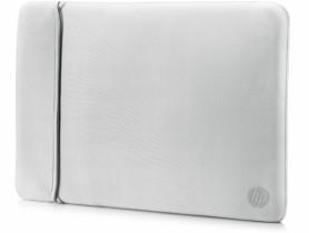"HP 15.6"" Reversible Sleeve – Black/Silver Laptop táska - 1540032"