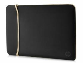 """HP 14.0"""" Reversible Sleeve – Black/Gold Laptop táska - 1540034"""