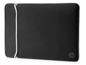 "HP 14.0"" Reversible Sleeve – Black/Silver Laptop táska - 1540036"