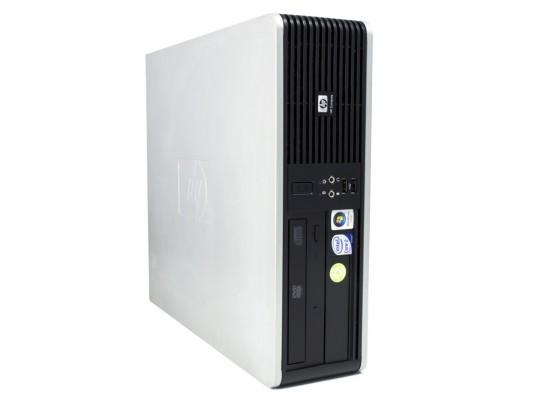 HP dc7900 SFF felújított használt számítógép, C2D E8400, GMA 4500, 4GB DDR2 RAM, 160GB HDD - 1600237 #2