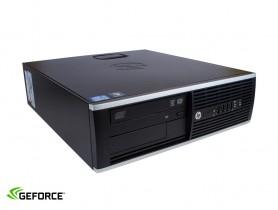 HP Compaq 8200 Elite SFF + GT1050Ti 4GB felújított használt pc - 1602113