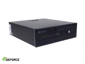 HP EliteDesk 800 G1 SFF + GTX 1050Ti 4GB