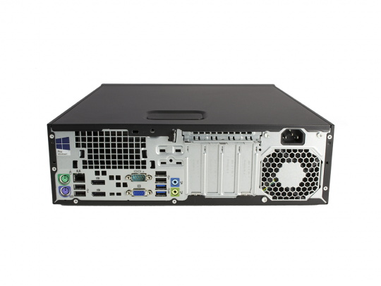 HP EliteDesk 800 G1 SFF felújított használt számítógép, Intel Core i7-4770, HD 4600, 8GB DDR3 RAM, 240GB SSD - 1602637 #5