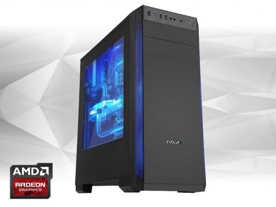Furbify GAMER PC 3 Tower i5 + RX570 8GB Számítógép - 1602716 #1
