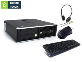 HP Compaq 8300 Elite SFF + Headset + Keyboard + Mouse
