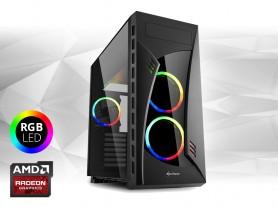 Furbify GAMER PC 4 Tower i5 + RX 570 4GB felújított használt pc - 1603693