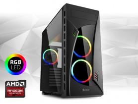 Furbify GAMER PC RGB - GRIZZLY - Radeon RX 570 4GB