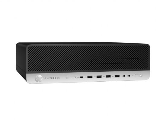 HP EliteDesk 800 G3 SFF felújított használt számítógép, Intel Core i5-6500, HD 530, 8GB DDR4 RAM, 240GB SSD - 1603911 #1