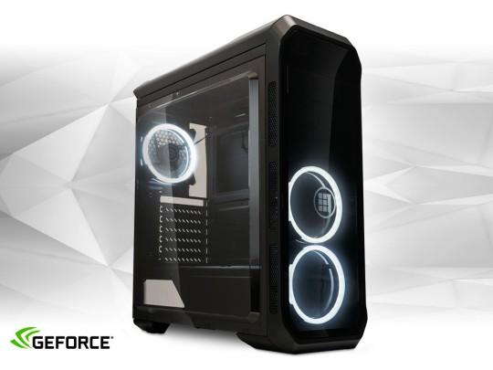"""Furbify GAMER PC """"Bat"""" Tower i5 + GTX 1650 4GB felújított használt számítógép, Intel Core i5-4440, GTX 1650 4GB, 8GB DDR3 RAM, 240GB SSD, 500GB HDD - 1603985 #1"""