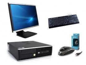 """HP Compaq 8000 Elite SFF + 22"""" Monitor HP LA2205wg + Billentyűzet & Egér"""