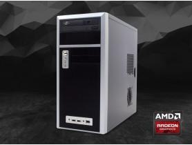 """Furbify GAMER PC """"Simple"""" Tower i5 + GTX 1050 OC Low Profile 2GB felújított használt pc - 1604008"""