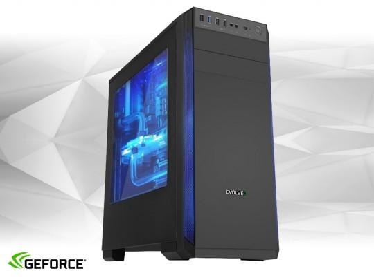 """Furbify GAMER PC """"ROGUE"""" + Radeon RX470 8GB felújított használt számítógép, Intel Core i5-4570, Radeon RX470 8GB, 8GB DDR3 RAM, 240GB SSD - 1604030 #1"""