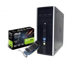 HP Compaq 8200 Elite CMT i5-2400 + ASUS GT 1030 2GB Low Profile felújított használt számítógép - 1605242