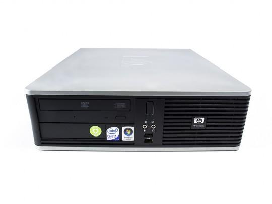 HP Compaq dc7800 SFF felújított használt számítógép, C2D E8400, Intel HD, 4GB DDR2 RAM, 160GB HDD - 1605387 #2