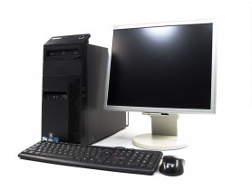 LENOVO ThinkCentre M81 Tower + NEC Multi Sync 1970NX 19""