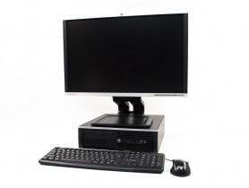 "HP Compaq 8200 Elite SFF + HP Compaq LA2405WG 24"""