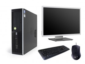 HP Compaq 8300 Elite SFF + Monitor DELL Professional P2217wh + Keyboard & Mouse