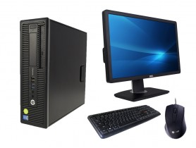 HP ProDesk 600 G1 SFF + Monitor DELL Professional P2212H + Keyboard & Mouse