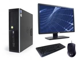"HP Compaq 8300 Elite SFF + 24"" Monitor DELL U2412m IPS + Keyboard & Mouse"