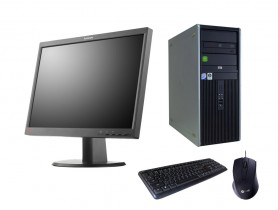 "HP Compaq DC7800p T+ 22"" LENOVO ThinkVision L2251p"