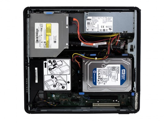 Dell OptiPlex 760 SFF + Monitor HP L2045W + Billentyűzet és Egér felújított használt számítógép, C2D E7300, GMA 4500, 4GB DDR2 RAM, 128GB SSD - 2070164 #3