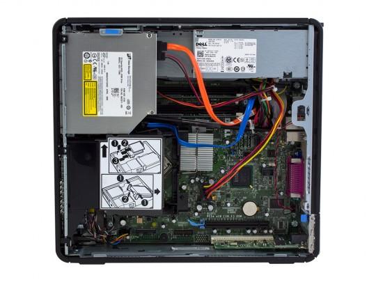 """Dell OptiPlex 745 SFF (Bronze) + 20,1"""" HP L2045W Monitor (Bronze) + Billentyűzet és Egér felújított használt számítógép, C2D E6300, GMA 3000, 4GB DDR2 RAM, 120GB SSD - 2070184 #4"""