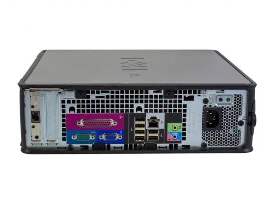 """Dell OptiPlex 745 SFF (Bronze) + 20,1"""" HP L2045W Monitor (Bronze) + Billentyűzet és Egér felújított használt számítógép, C2D E6300, GMA 3000, 4GB DDR2 RAM, 120GB SSD - 2070184 #3"""