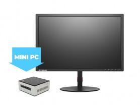 "Intel NUC5i5MYHE Mini PC + 22"" Monitor Lenovo T2254p + FullHD Webkamera + Egér és billentyűzet Komplett PC - 2070222"