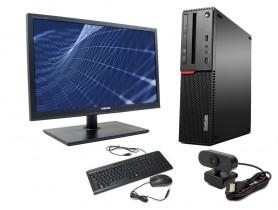 "Lenovo ThinkCentre M800 + 24"" Monitor SyncMaster S24A450 komplett pc - 2070239"
