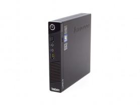 """Lenovo ThinkCentre M93p Tiny + 23"""" FullHD Monitor Compaq LA2306x + 1080p Webkamera + Billentyűzet és Egér felújított használt mini számítógép - 2070241"""