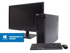 Lenovo Thinkcentre M91P SFF + Monitor Samsung S22E450 + MAR Windows 10 Home