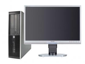"HP Compaq 8100 Elite SFF + 22"" Philips 220B Monitor (Quality Silver) Komplett PC - 2070285"