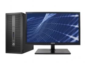 "HP EliteDesk 800 G2 TOWER + 24"" Samsung S24A450 (Quality Silver) Komplett PC - 2070290"