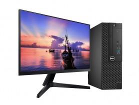 Dell OptiPlex 3050 SFF + LED Samsung T35F, FullHD, 75Hz Monitor (Quality New) Komplett PC - 2070308